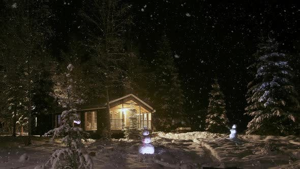 Winter Fairy Tale or A House in the Forest