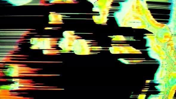 Vhs Glitch-Effektpaket