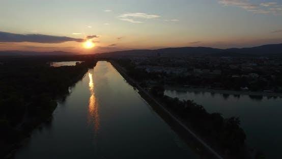 Thumbnail for Sunset on Jarun lake