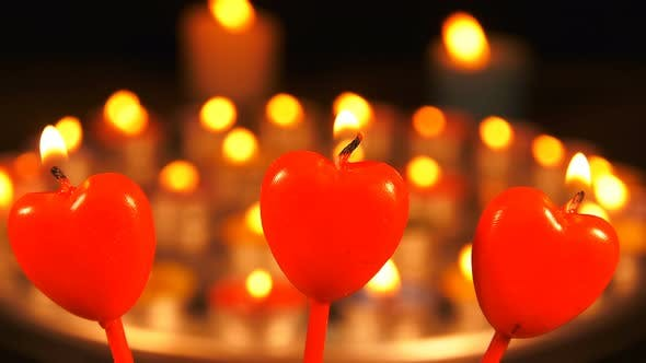 Thumbnail for Heart Shape Of Candle Light 4