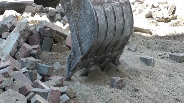 Thumbnail for Bucket Excavator Is Working