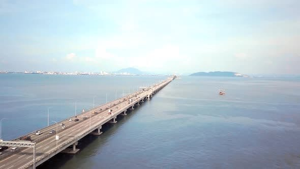 Cover Image for Penang Bridge Drone Shot