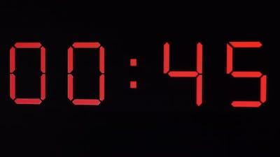 Red Digital Timer
