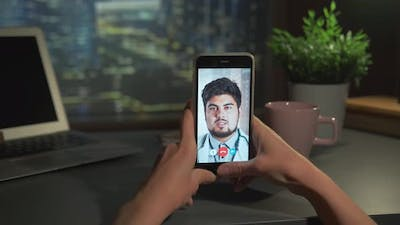 Online Video Consultation with Indian Doctor on Smartphone