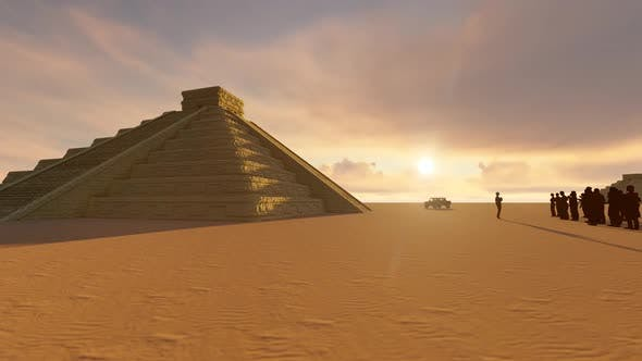 Thumbnail for Egypt Pyramids And Visitors