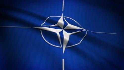 Nato Flag Seamless Loop