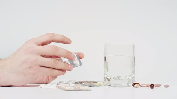 Thumbnail for Various pills blisters