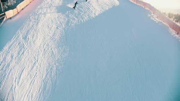 Thumbnail for Men Snowboarding  Mountain