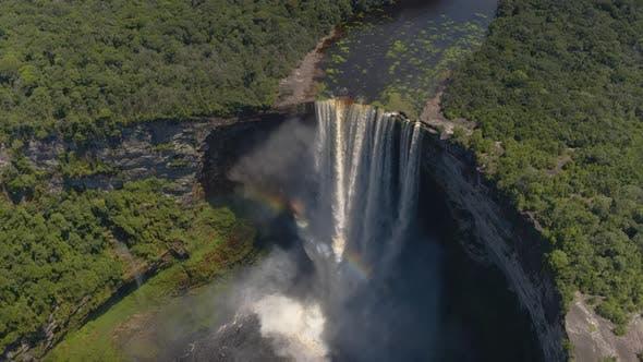 Thumbnail for Amazing Rainbow Waterfall