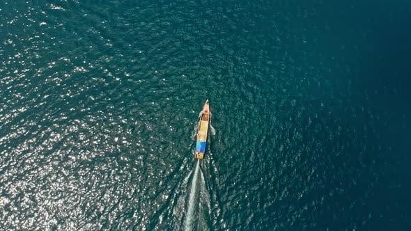 Thumbnail for Full Throttle Boat on Sea