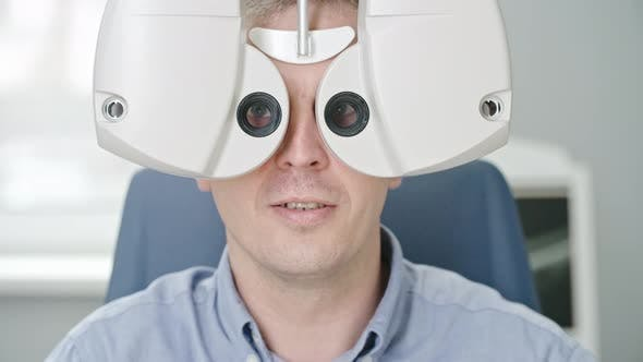 Thumbnail for Vision Test with Automated Phoropter