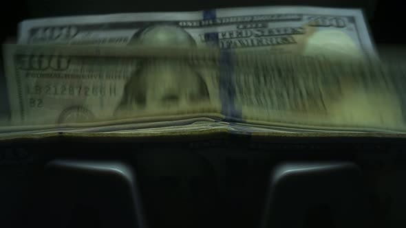 Thumbnail for Bank Automated Equipment for Counting Money. Exchange Currency in Bank Office