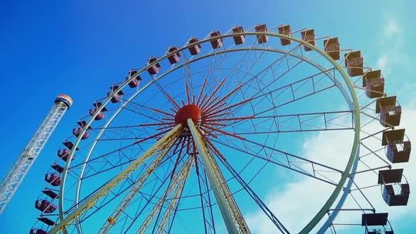 Thumbnail for Ferris Wheel on Amusement Park