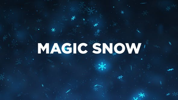 Thumbnail for Magic Snow Background