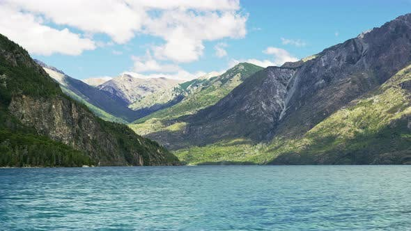 Thumbnail for Calm and Majestic Lake By the Mountains and Clouds