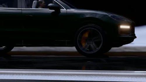 Black Sport SUV