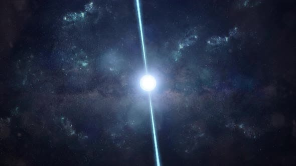 Thumbnail for Pulsar in the Depths of Space - Fast Spinning Neutron Star