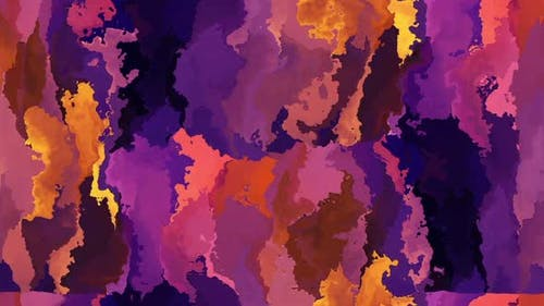 Flowing Colorful Paint Background