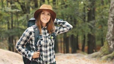 Portrait of Backpacker