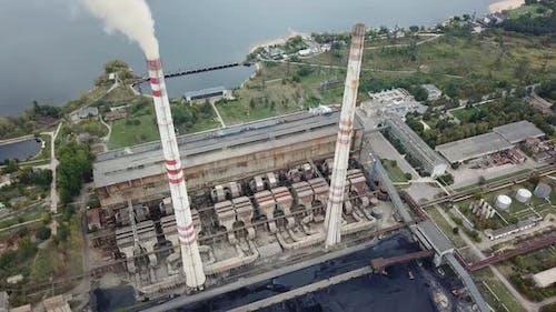 Power Station Establishing Shot