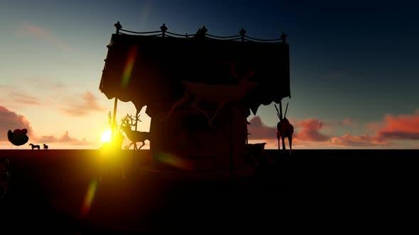 Thumbnail for Carousel at Sunset