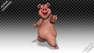 Comic Pig - Dance Joke