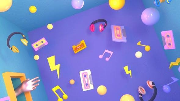 Thumbnail for 90s Hipster Music Room