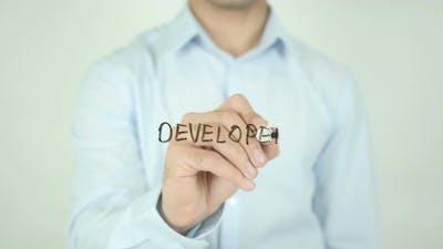 Developer, Writing On Screen