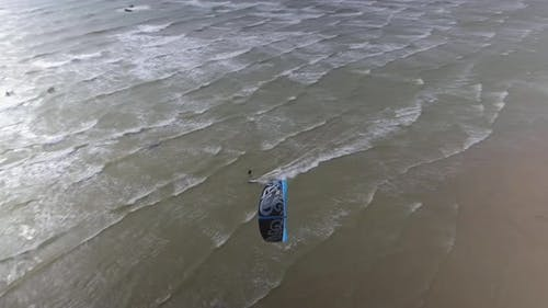 Kitesurfing Aerial Chase