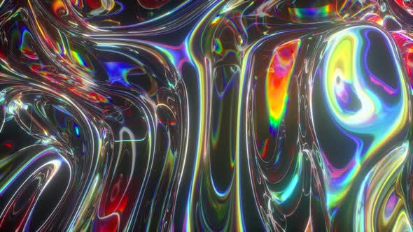 Colorful Abstract Animated Background