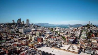 San Francisco Cityscape Time Lapse