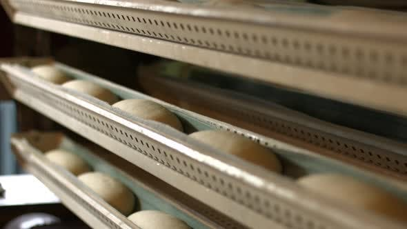 Baking of Bread at the Bakery