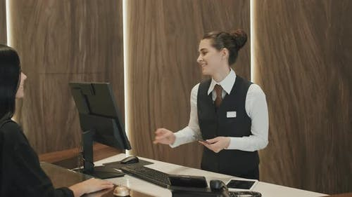 Check-In at Hotel