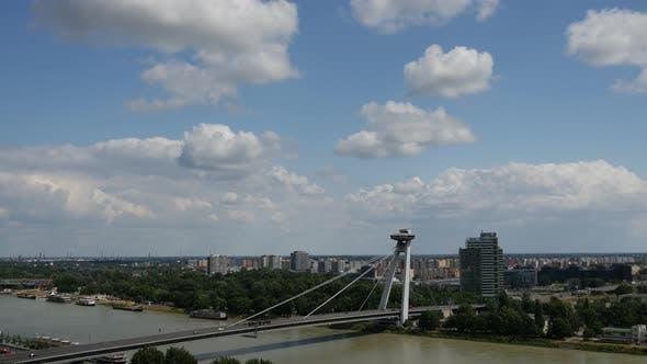 Thumbnail for The Most SNP or UFO Bridge in Bratislava