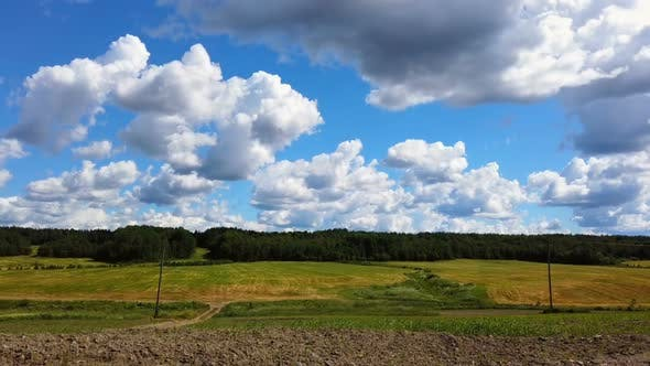 Thumbnail for Panorama of the Summer Landscape From the Field