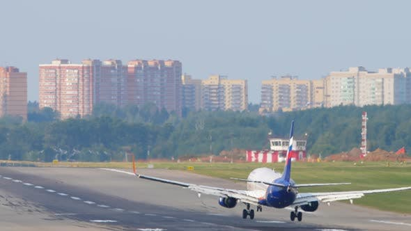 Landing and Touching the Landing Gear