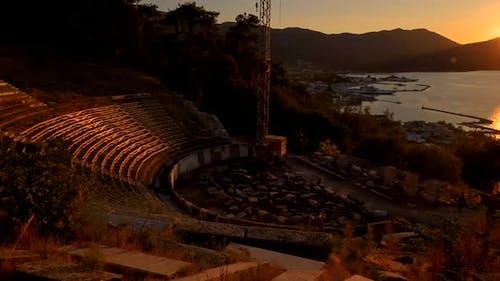 Ancient Theater, Limenas, Thassos, Greece