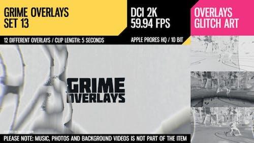 Grime Overlays (2K Set 13)