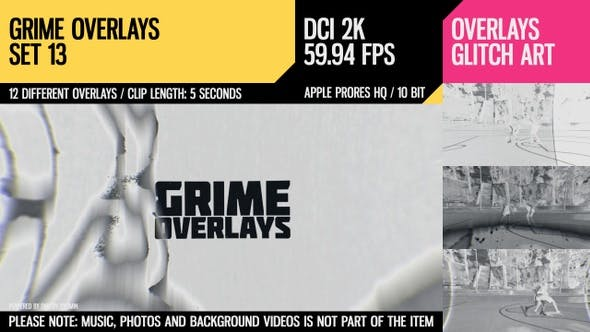 Thumbnail for Grime Overlays (2K Set 13)