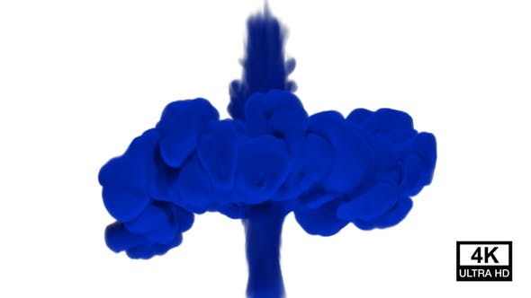 Blue Smoke Collisions 4K