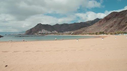 Famous Playa De Las Teresitas in Tenerife