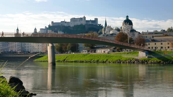 Timelapse of Salzburg, Austria