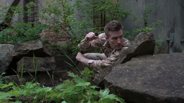 Special Forces Soldier on Secret Mission