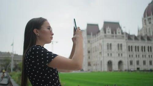 Making Photos of Budapest Landmarks Hungary