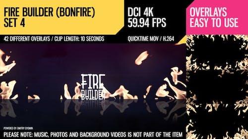 Fire Builder (Bonfire 4K Set 4)