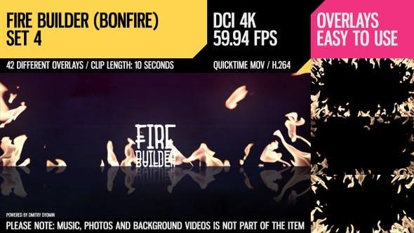 Thumbnail for Fire Builder (Bonfire 4K Set 4)