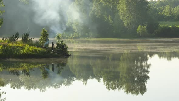 Cover Image for Beautiful Early Morning at Forest Lake