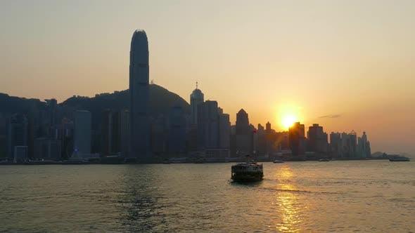 Thumbnail for Hong Kong at Sunset, Victoria Harbour
