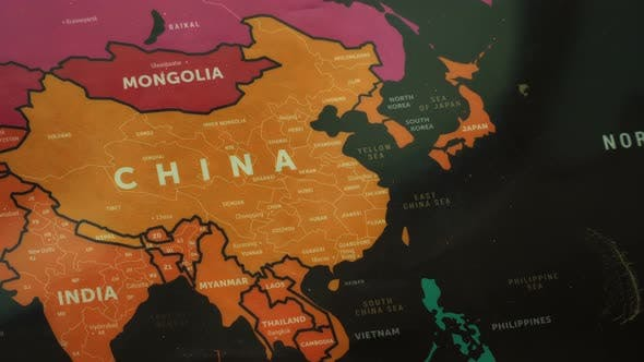 Thumbnail for Asia On World Map