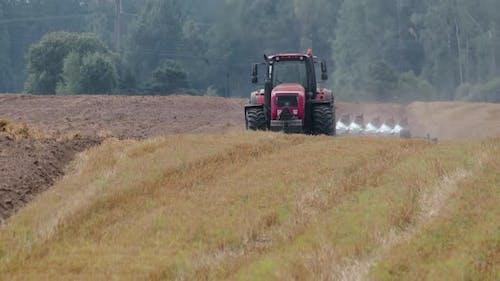 Farmer Plowed the Stubble